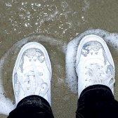 Як відбілити кросівки