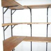 Як зробити полку дерев'яну