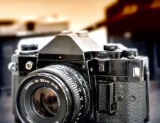 Як фотографувати на плівку