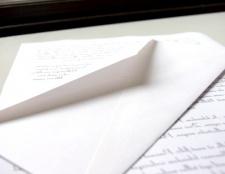 Як написати правильно листа