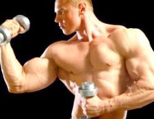 Як наростити м'язи на руках