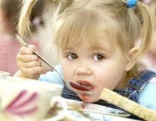 Як навчити є в дитячому садку