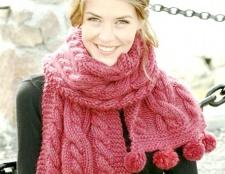 Як обв'язати шарф красиво