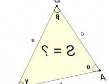 Як визначити площу трикутника
