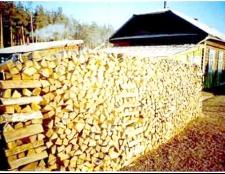 Як поставити дрова