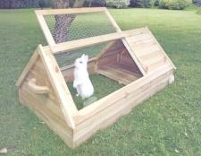 Як побудувати клітку