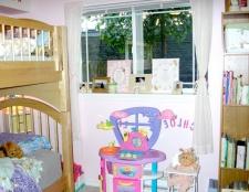 Як розділити дитячу кімнату