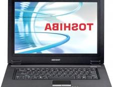 Як розібрати ноутбук toshiba