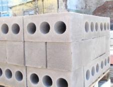 Як зробити бетонний блок