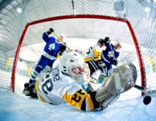 Як зробити хокейні ворота