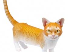 Як зробити кішку орігамі