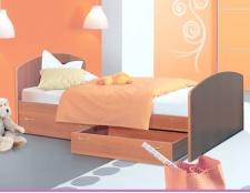 Як зробити ліжко з ящиками