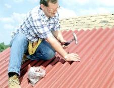 Як будувати дах і настилати покрівлю