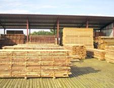 Як сушити деревину