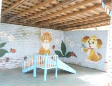 Як прикрасити веранду дитячого саду