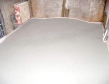Як залити підлогу бетоном