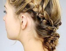 Як заплести модні коси