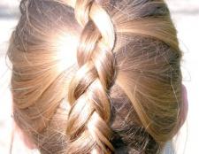 Як заплести волосся середньої довжини