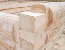 Як побудувати зруб для лазні