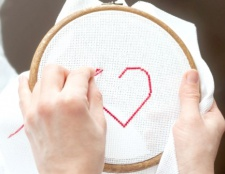 Як вишивати хрестиком по канві