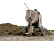 Як зробити бетономішалку