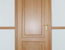 Як зробити самому дерев'яні двері