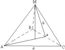 Як знайти площу піраміди